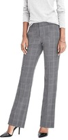 Banana Republic Logan-Fit Plaid Lightweight Wool Pant