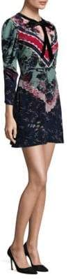 Saloni Aleria Silk Mini Dress