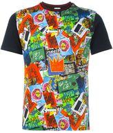 Vivienne Westwood Man sticker print T-shirt