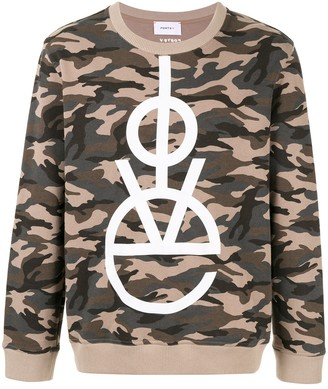 Ports V LOVE camo sweater