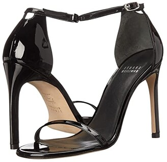 Stuart Weitzman Nudistsong Ankle Strap Sandal (Coffee) Women's Shoes