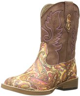 Roper Glitter Square Toe Cowgirl Boot (Infant/Toddler/Little Kid/Big Kid)
