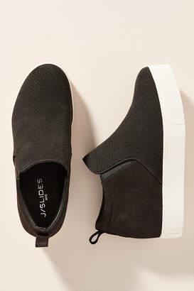 J/Slides Sallie High-Top Wedge Sneakers