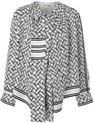 Bottega Veneta Asymmetrical blouse