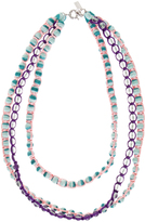 Missoni Triple Beaded Necklace