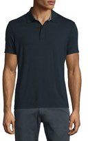 Armani Collezioni Short-Sleeve Stretch Polo Shirt, Navy