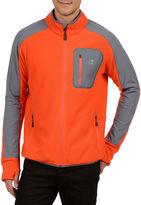 Champion Textured Pill-Resistant Microfleece Jacket