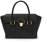Vivienne Westwood Opio Saffiano Handbag 131211 in Black