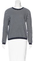 Marni Checkered Crew Neck Sweater
