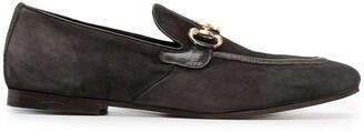 Henderson Baracco Almond Toe Horsebit Loafers