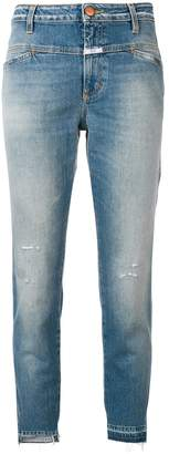 Closed slim-fit cropped jeans