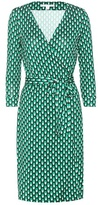 Diane von Furstenberg New Julian Two Printed Silk Dress