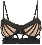 For Love & Lemons BALMY Bikini top black