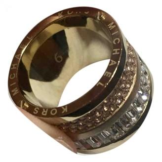 Michael Kors Gold Metal Rings