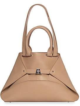 Akris Women's Small AI Embossed Leather Tote
