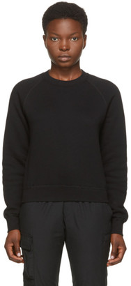 John Elliott Black Vintage Fleece Sweatshirt