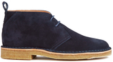 Ps By Paul Smith Wilf Suede Desert Boots Navy Otterproof Suede