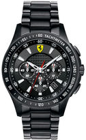 Ferrari Men's Scuderia Chronograph Black Watch with Bracelet