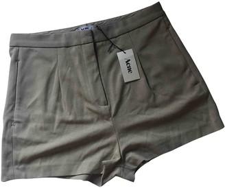 Acne Studios Beige Shorts for Women
