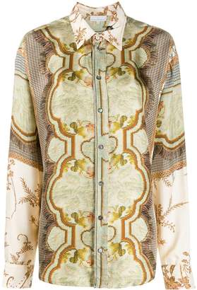 Pierre Louis Mascia Pierre-Louis Mascia embroidered long-sleeve blouse