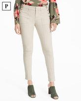 White House Black Market Petite Button Detail Skimmer Jeans