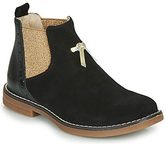 Catimini CABRIDE girls's Mid Boots in Black