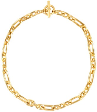 Tilly Sveaas 18kt Gold-Plated Watch Chain Necklace