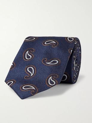 Beams 7.5cm Paisley Silk-Jacquard Tie