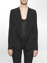 Calvin Klein Asymmetrical Soft Suit Jacket