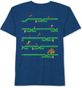 Nintendo Super Mario Bros. Green Pipes Chase T-Shirt, Big Boys (8-20)