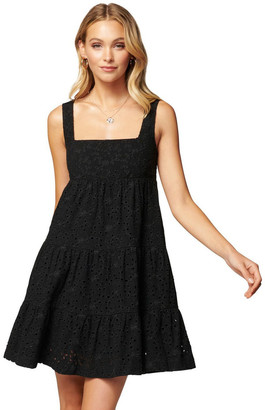 Forever New Liberty Broderie Babydoll Dress