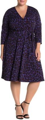 Leota Belted Fit & Flare Dress