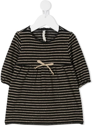 Zhoe & Tobiah Striped Bow Dress