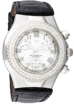 Technomarine Techno Marine Diamond Technolady Chronograph Watch