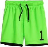 H&M Soccer Shorts - Neon green - Kids