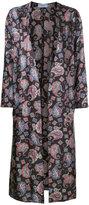 ASTRAET printed long coat - women - Polyester - 0