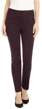 Alfani Ponte-Knit Slim Pants, Created for Macy's