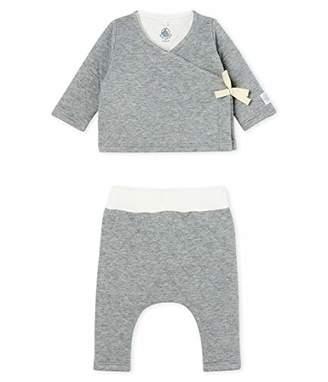 Petit Bateau Baby Ensemble 2 Pieces_5042702 Clothing Set,(Size: 18M/81centimeters)