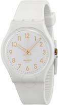 Swatch White Bishop White Dial Unisex Watch
