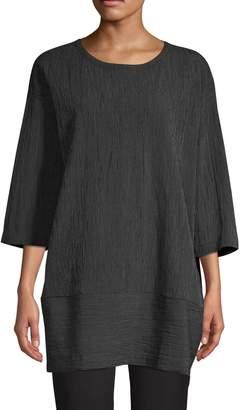 Eileen Fisher Stripe Panel Tunic