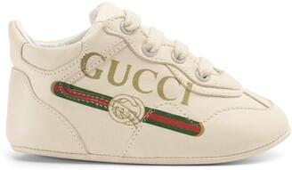 Gucci Baby print Rhyton sneaker