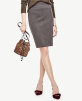 Ann Taylor Petite Ponte Pencil Skirt