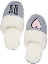 Victoria's Secret Victorias Secret The Embroidered Cozy Slipper