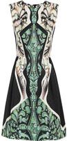 Peter Pilotto Alexa printed silk-jaquard dress