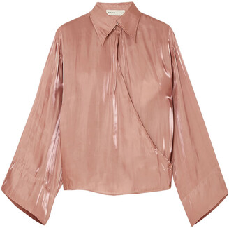 Etro Moire Wrap Shirt