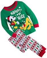 Disney Mickey Mouse and Pluto Fun Family Pajama Set for Boys