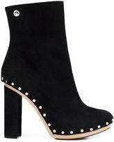 Proenza Schouler studded platform boots - women - Wood/Suede - 38