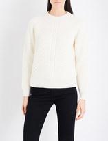 Belstaff Shandi cable-knit jumper