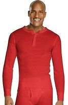 Hanes Men's X-Temp Thermal Henley