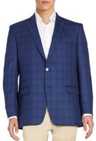 Calvin Klein Plaid Wool Sportcoat